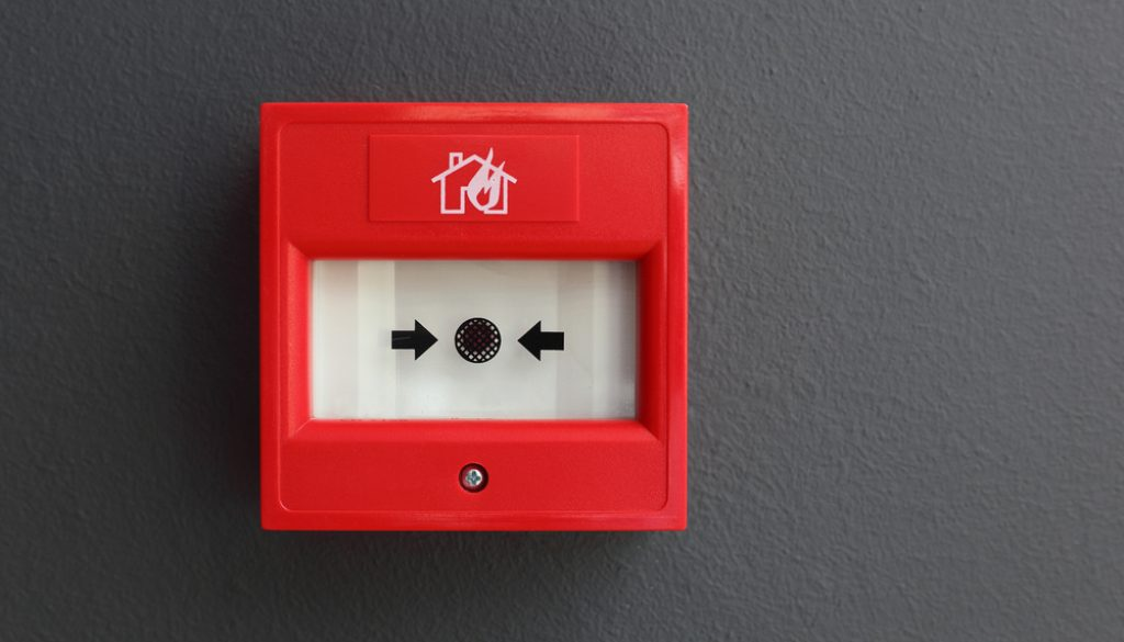 how does fire alarm monitoring work